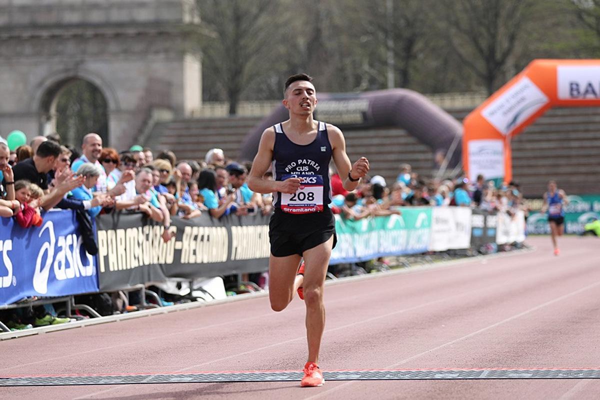 Zahir Milano 21 Half Marathon