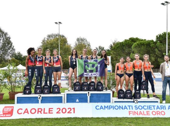 Staffetta 4x400 vince Finale Oro CDS - foto Grana